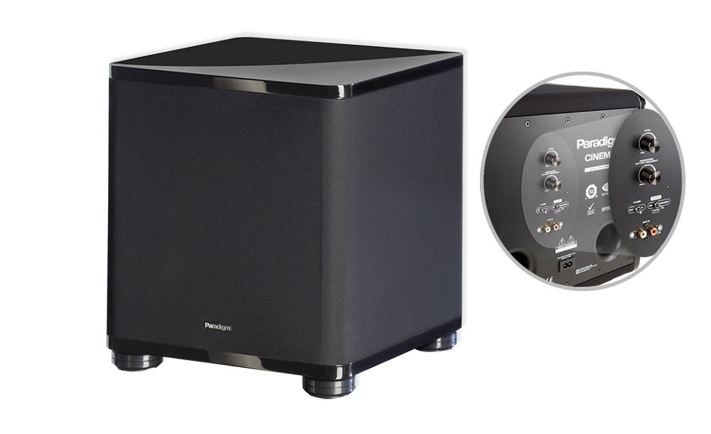 best subwoofer, subwoofer brands, best subwoofer brand, paradigm cinema subwoofer