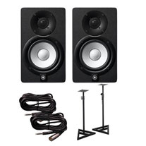 Yamaha HS8 Studio Monitor, Black 6
