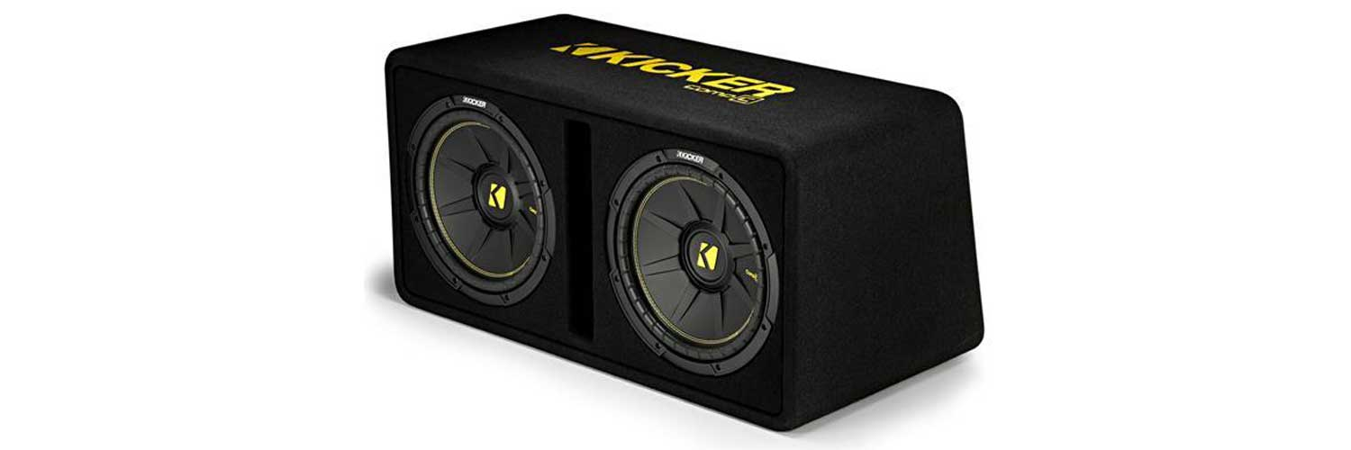 best 12 inch subwoofer, best 12 inch car subwoofer, car subwoofer, 12 inch subs, 12 inch subwoofer, best subwoofer, kicker, 44DCWC122