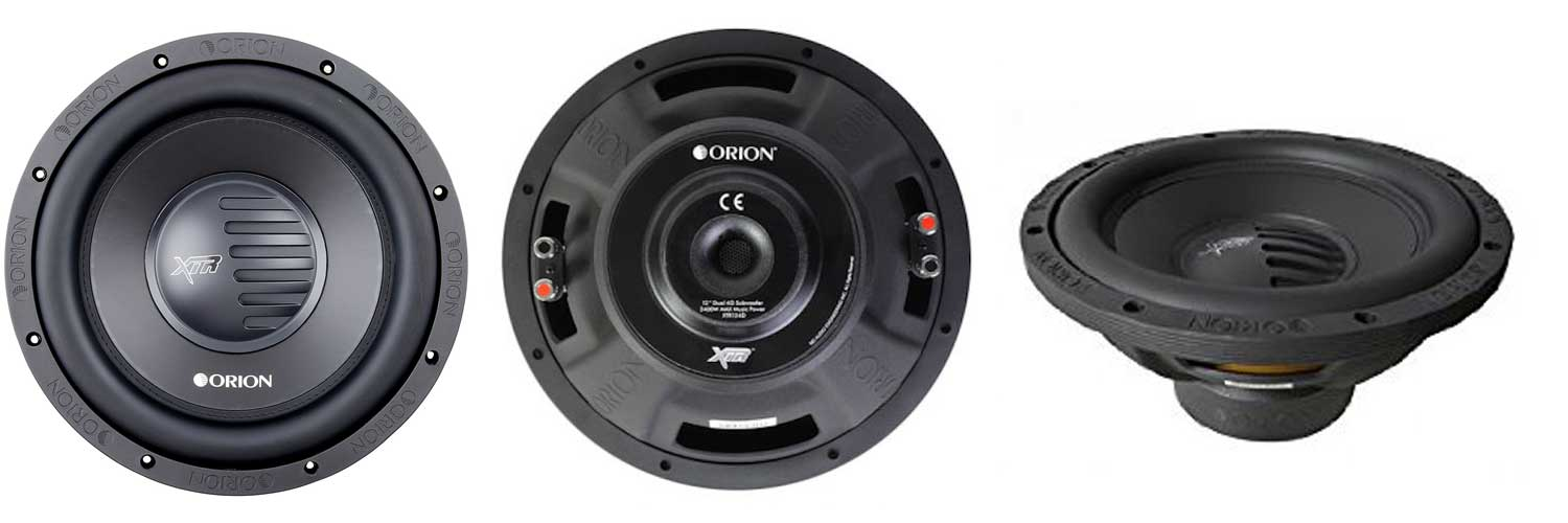 Orion XTR124D, 12 inches, competition subwoofers